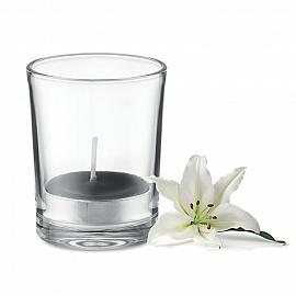 Lumanare aromatizata in sticla