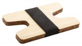Portofel - suport card din bambus, Wolly