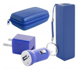 set baterie externa si incarcator USB, Rebex