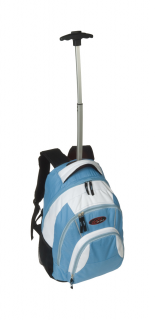 600D polyester trolley backpack, Fibri
