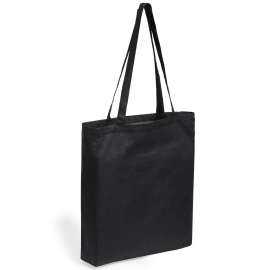 Coina, 100% cotton shopping bag with long handle