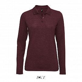 PERFECT LSL WOMEN Heather oxblood XXL