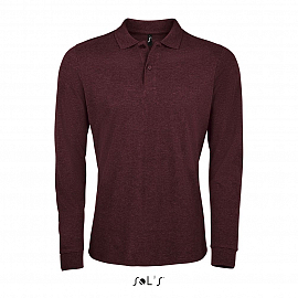 PERFECT LSL MEN Heather oxblood 3XL