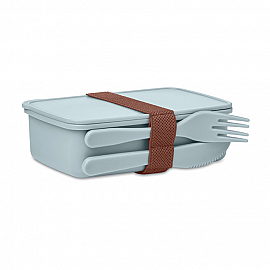 PP Lunch box with cultery