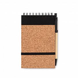 Notes A6, coperta pluta,  pix.