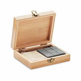 Set pt whisky in cutie bambus